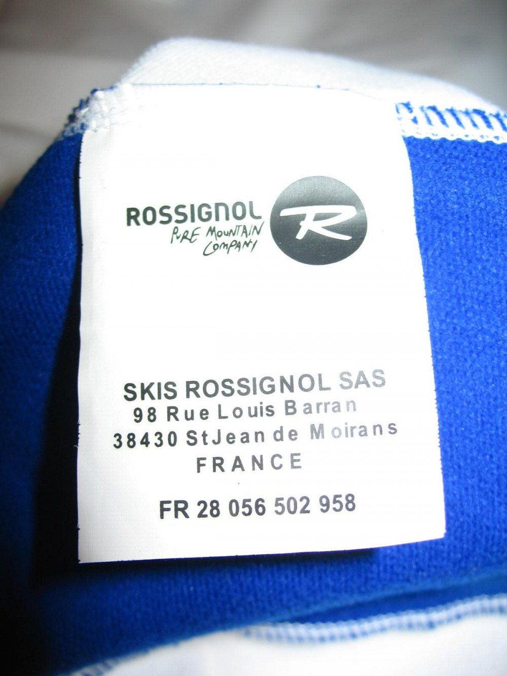 Кофта ROSSIGNOL warm stretch mid-layer top (размер XL/XXL) - 7