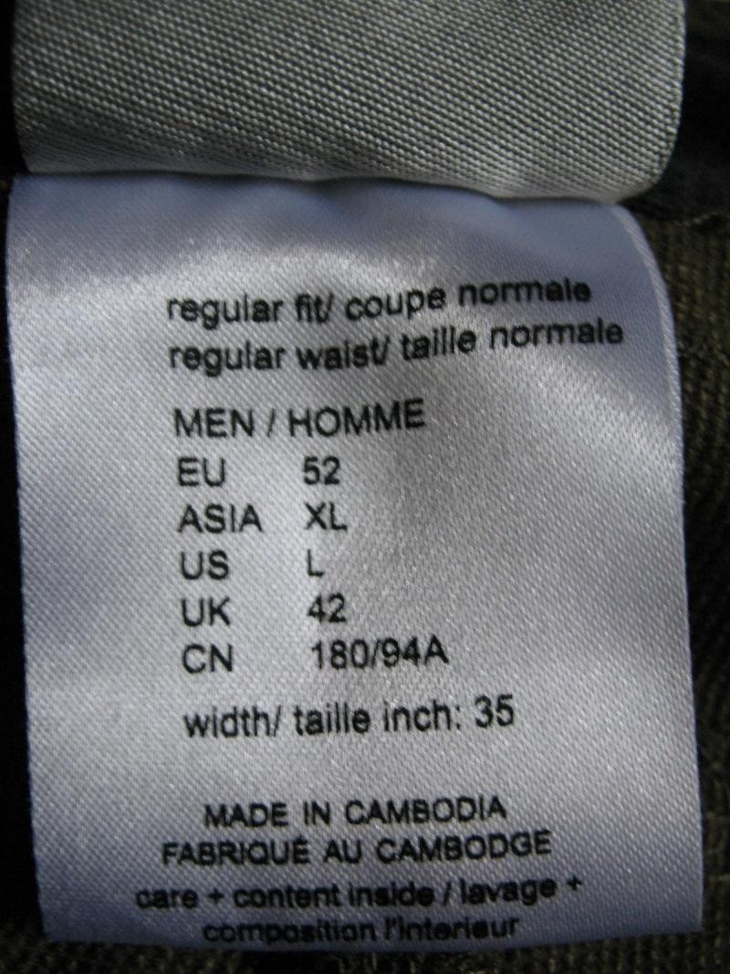Шорты JACK WOLFSKIN Activate Shorts (размер 52-L/XL) - 6