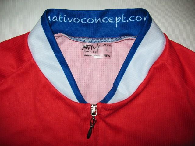Веломайка NATIVOconcept montreal canadiens cycling jersey (размер L) - 3