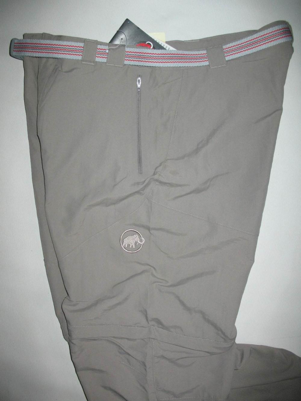 Штаны MAMMUT Zip off pants (размер 52-L/XL) - 7