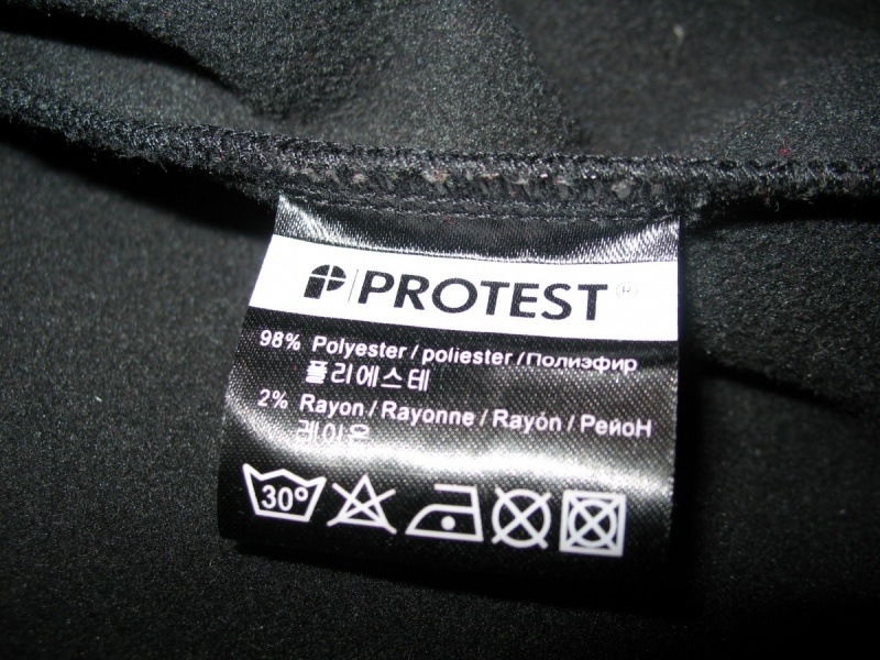 Кофта PROTEST fleece jacket  (размер L) - 8