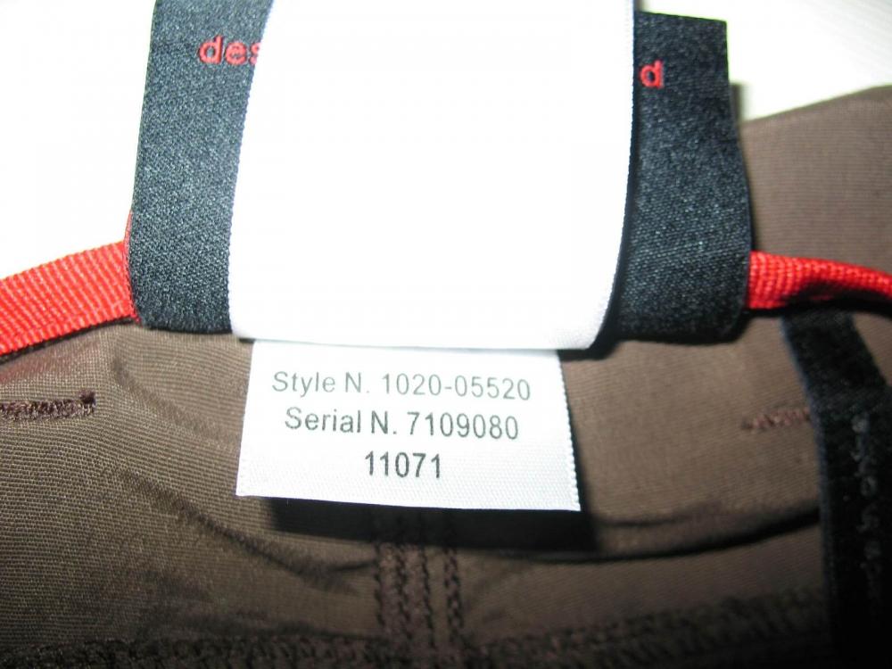 Штаны MAMMUT Zip Off brown pants lady (размер S/XS) - 12