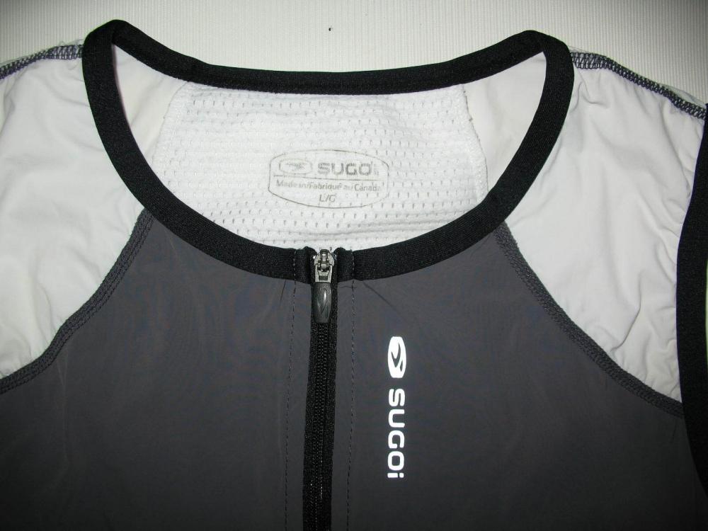 Веломайка SUGOI sleeveless triatlon jersey lady (размер L) - 3