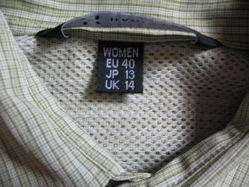 Рубашка HAGLOFS climatic lady  (размер L/M) - 2