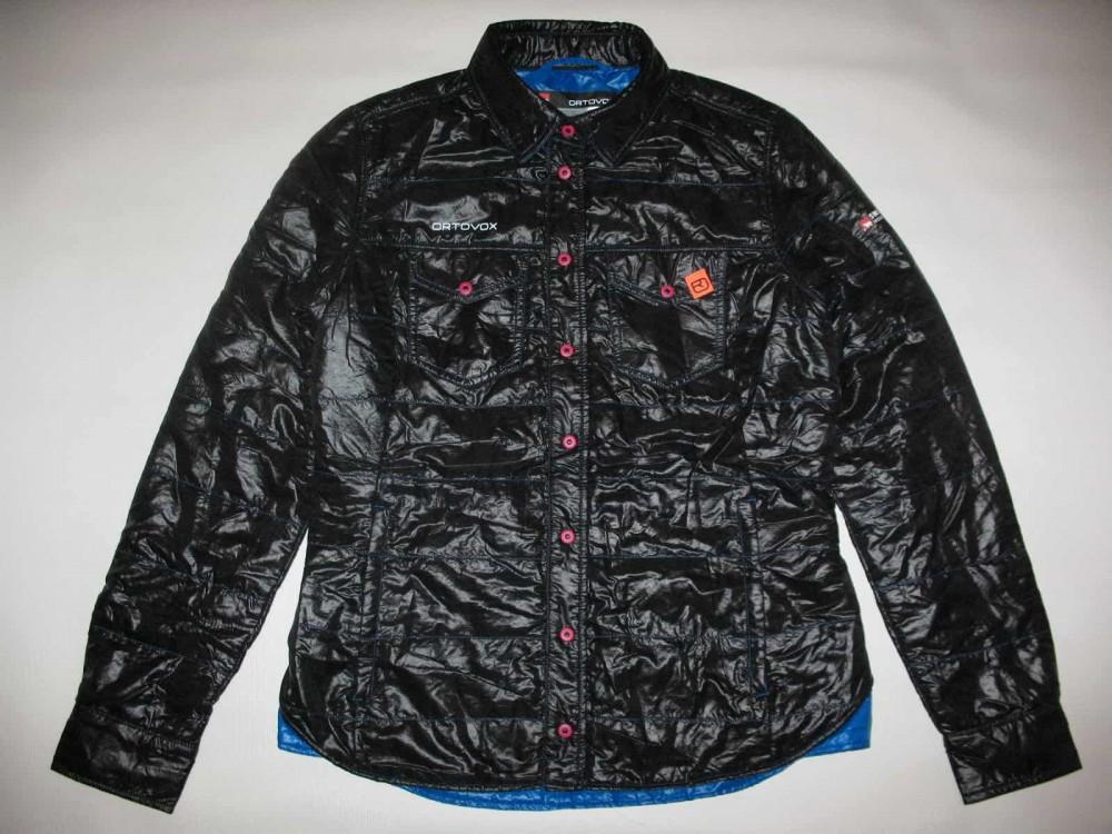 Куртка ORTOVOX swisswool shirt outdoor jacket lady (размер L) - 1