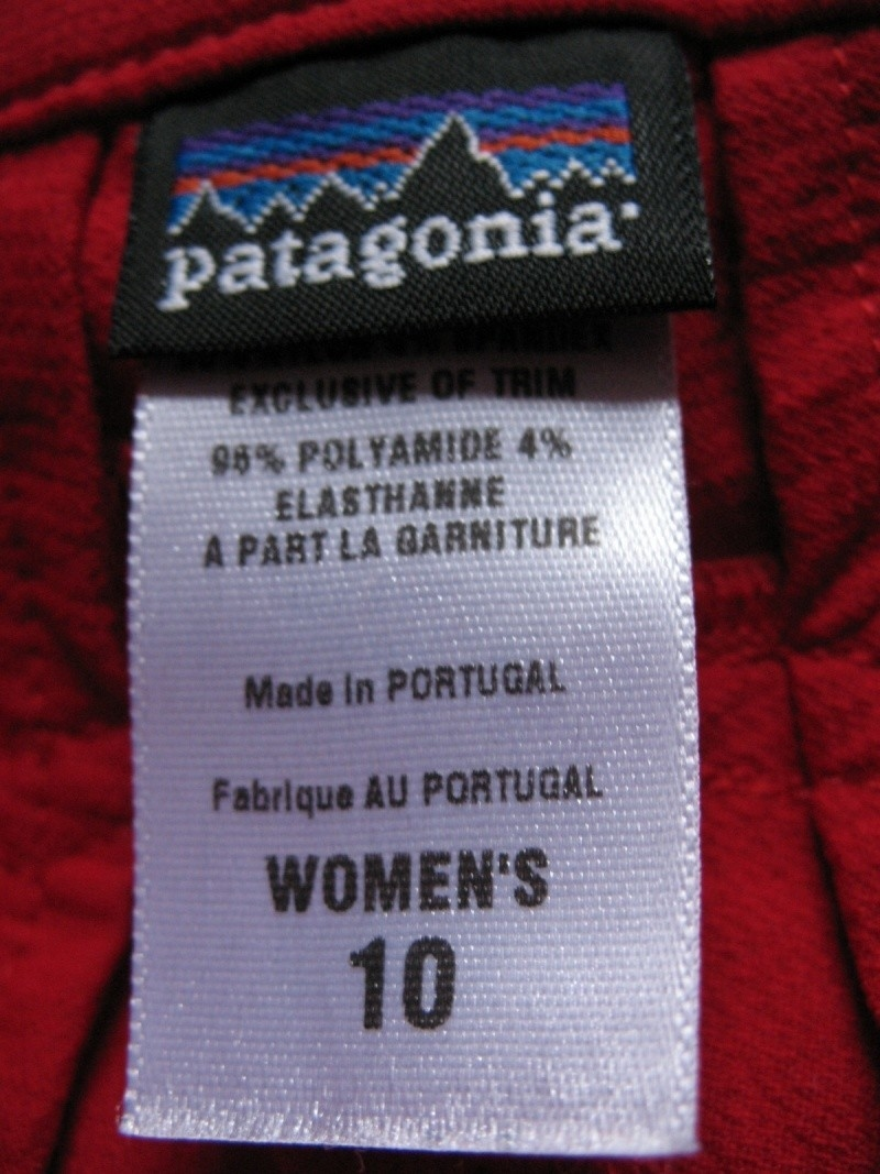 Штаны  PATAGONIA lady  (размер S) - 2