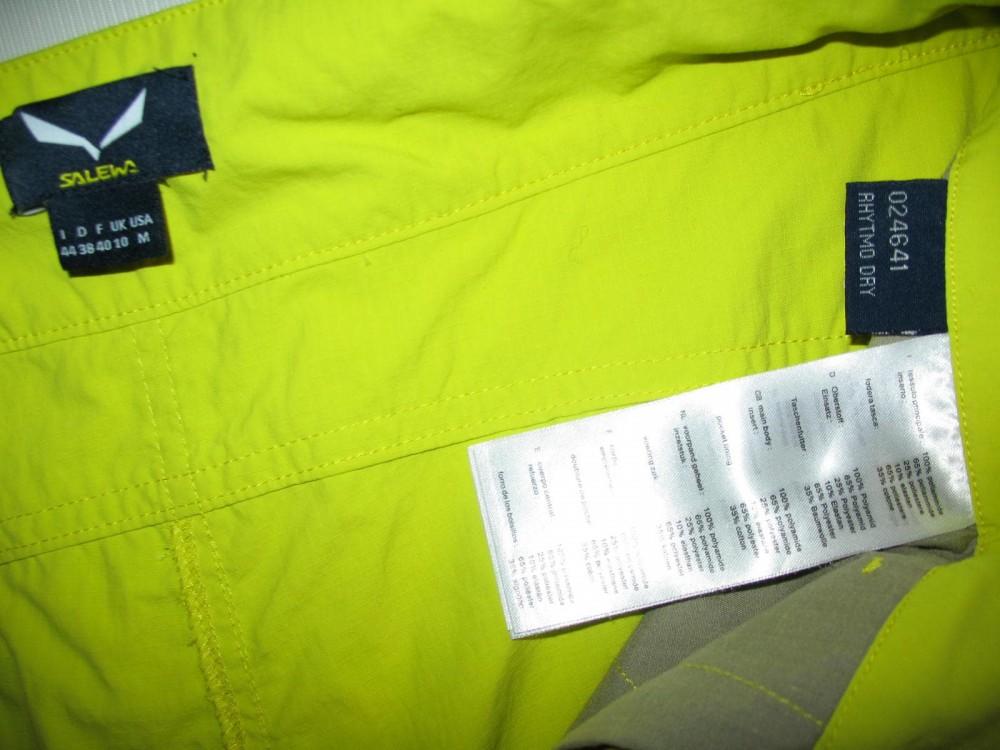 Штаны SALEWA rhytmo dry 3/4 pant lady (размер М) - 6