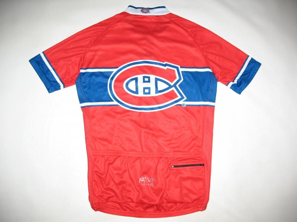 Веломайка NATIVOconcept montreal canadiens cycling jersey (размер L) - 1