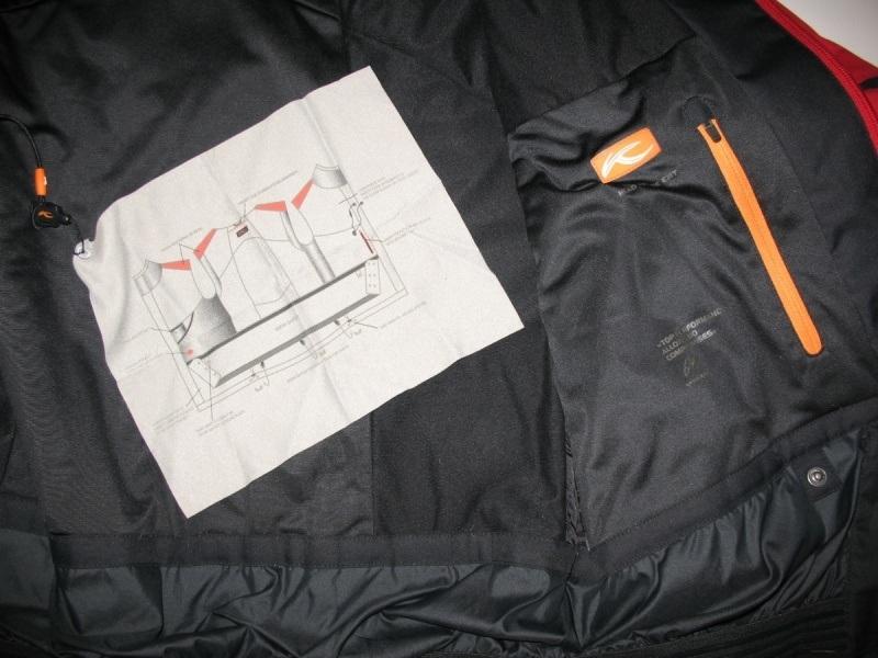 Куртка KJUS 20/20 ski jacket  (размер 54/XL, на рост до 178см) - 9