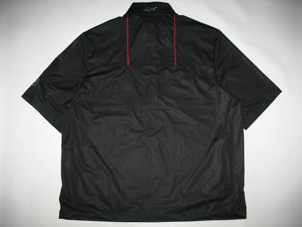 Футболка  GREG NORMAN Weatherknit Rain Protection 1/4-Zip Short Sleeve (размер L(реально XL)) - 3