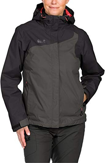 Куртка JACK WOLFSKIN cool wave 3 in 1 outdoor jacket lady (размер S/M) - 1