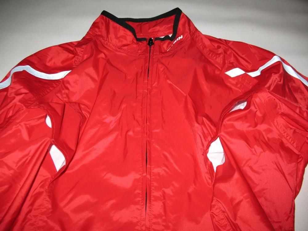Куртка BTWIN rain cycling jacket (размер L) - 2