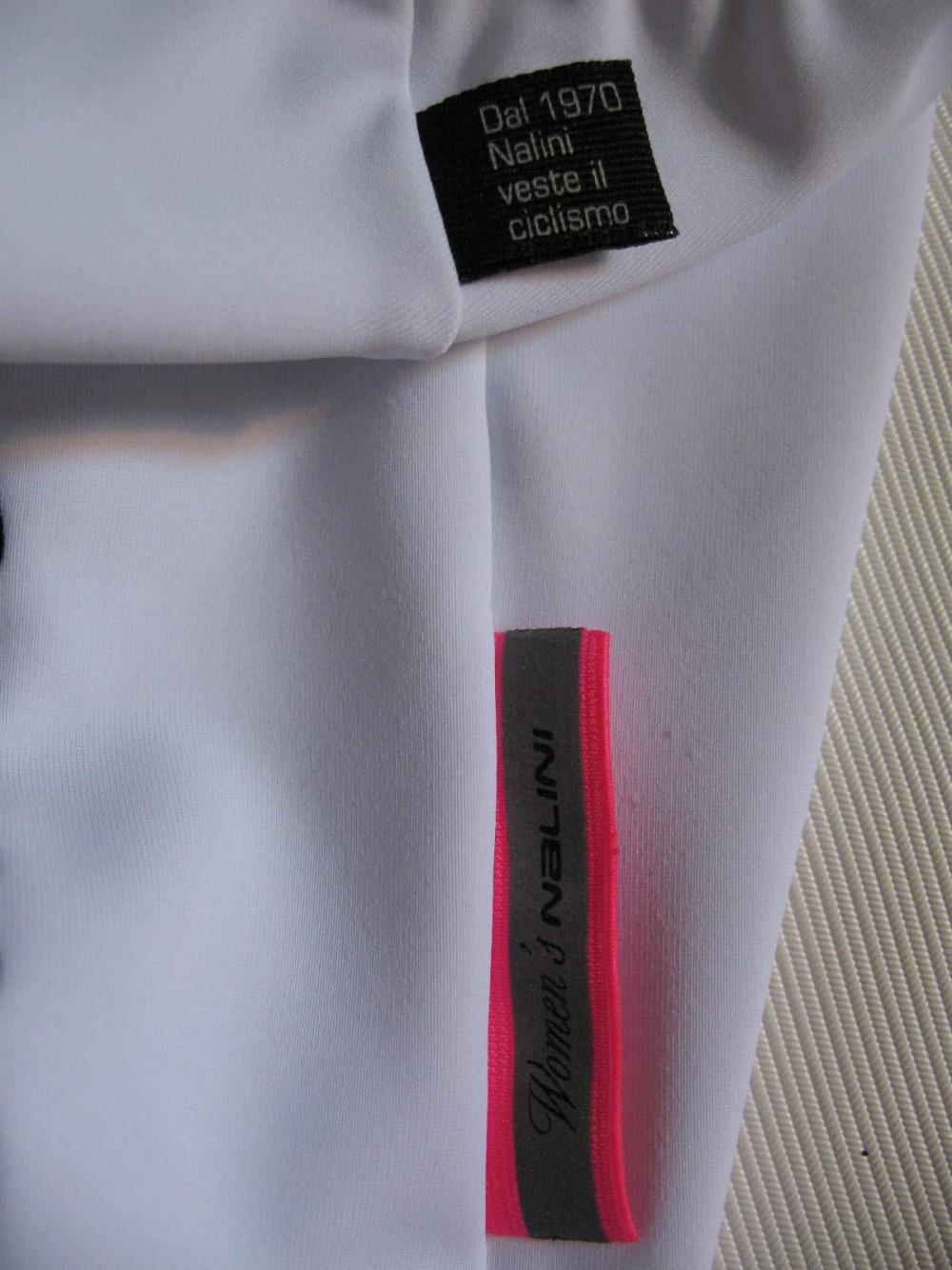 Велошорты NALINI white cycling shorts lady (размер S) - 5