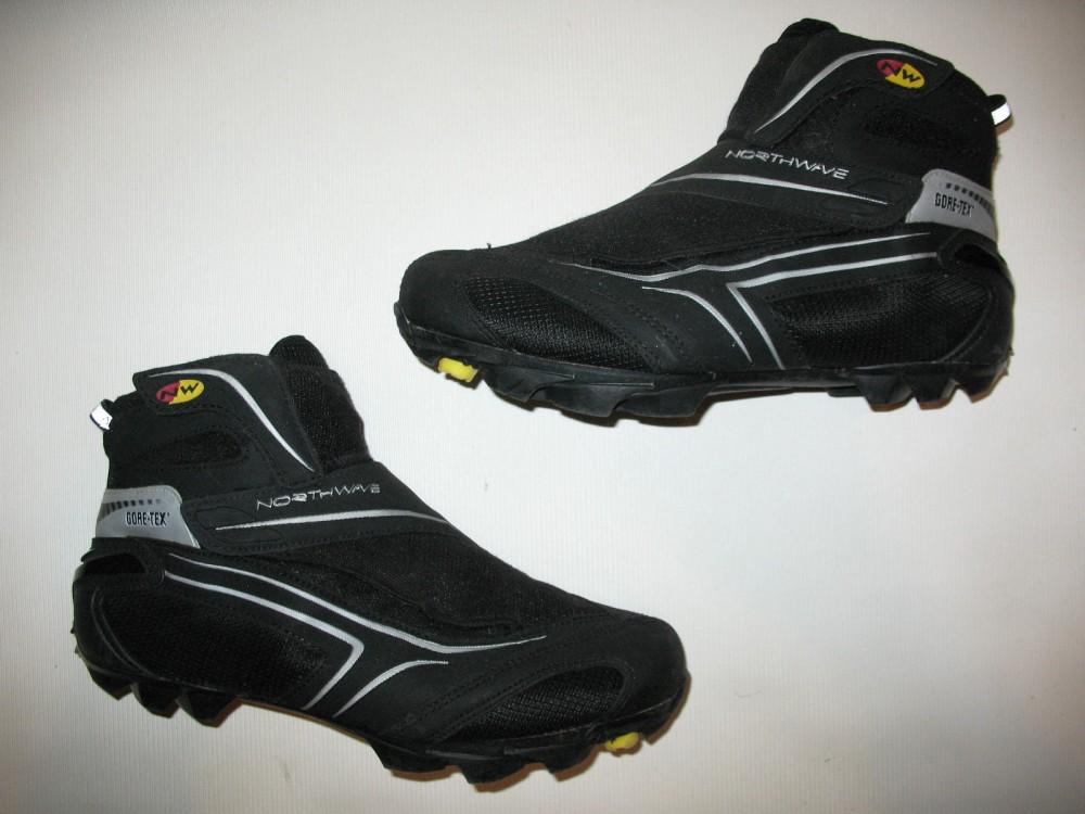 Велотуфли NORTHWAVE winter GTX shoes (размер US10,5;EU43(на стопу до 275 mm)) - 6