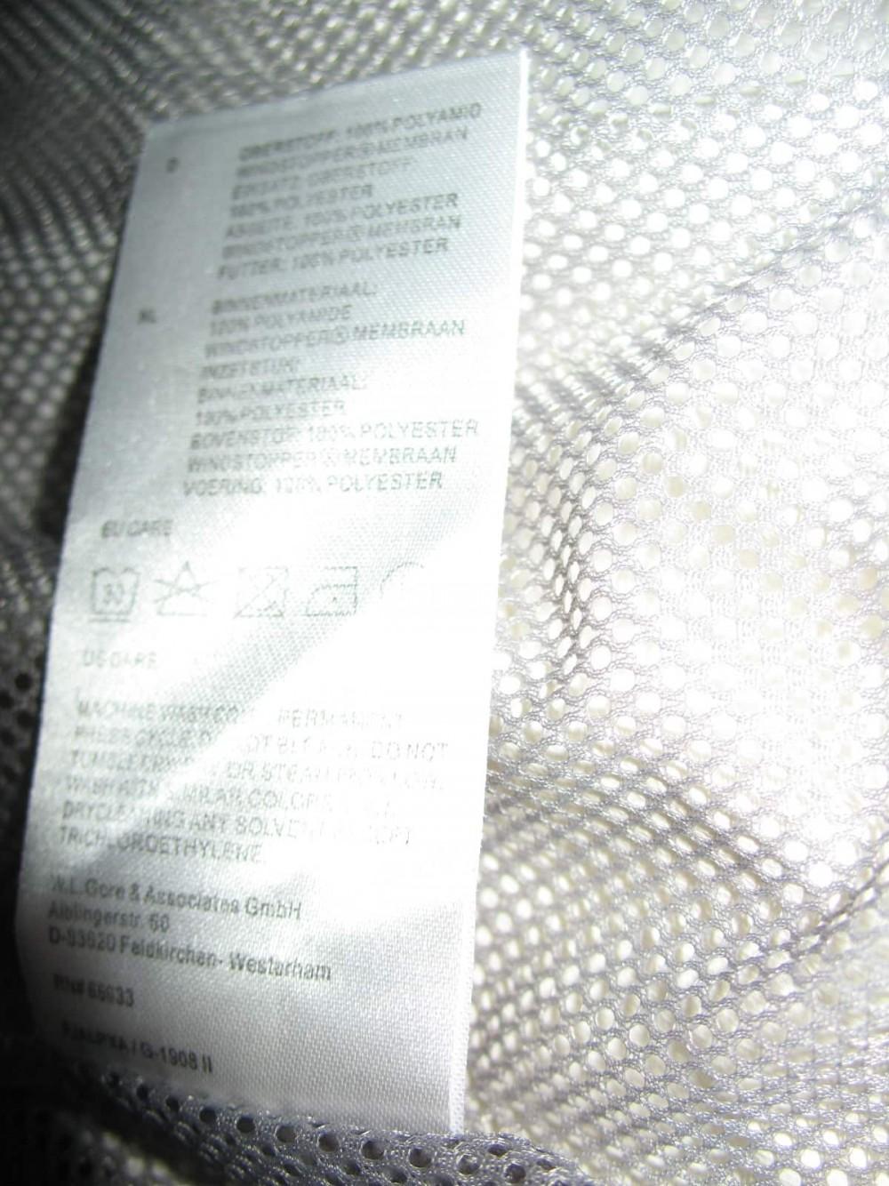 Велокуртка GORE BIKE WEAR 2in1 windstopper jacket lady (размер 40/XL) - 9