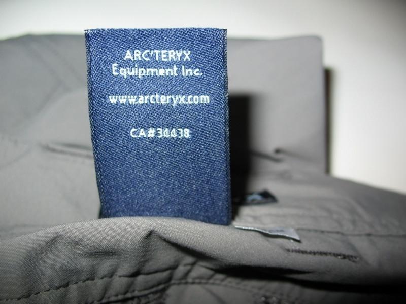 Штаны  ARCTERYX   Perimeter pants  (размер 32/M) - 12