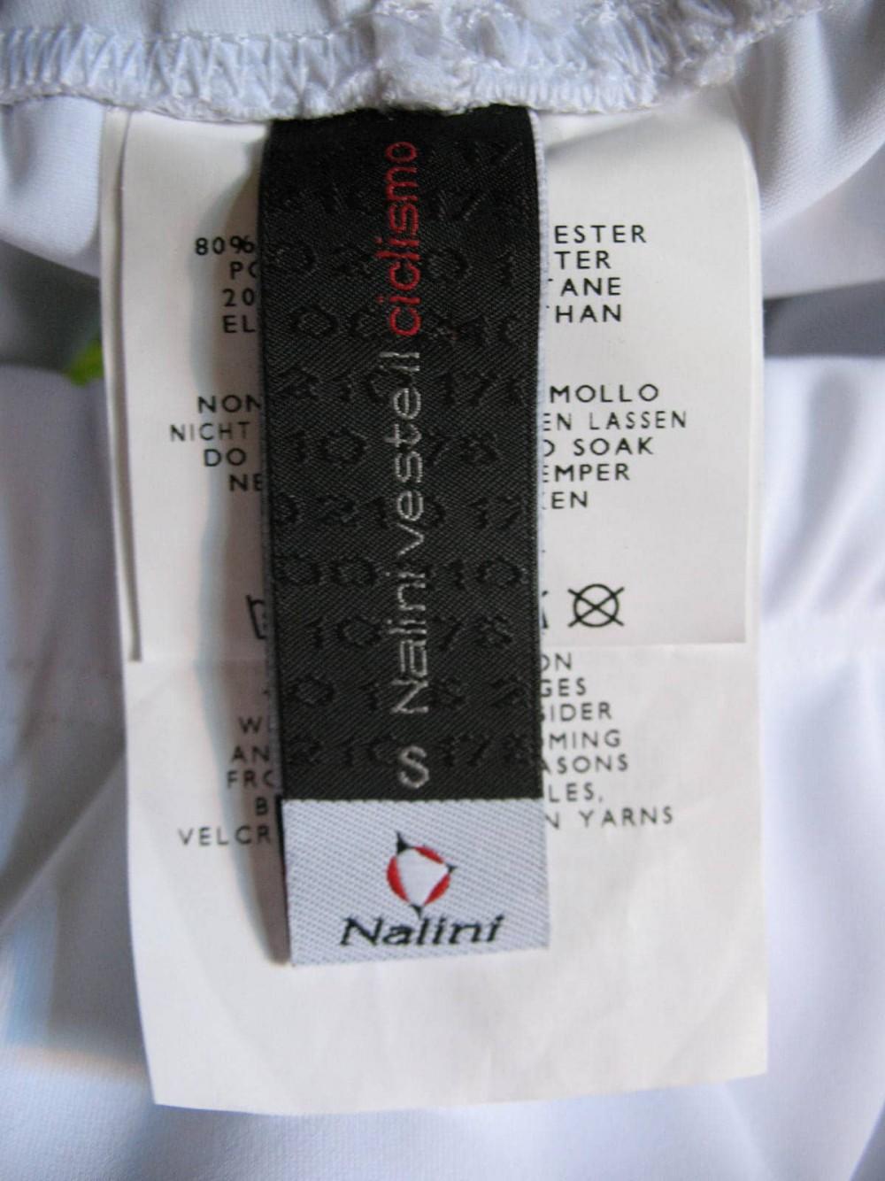 Велошорты NALINI white cycling shorts lady (размер S) - 6