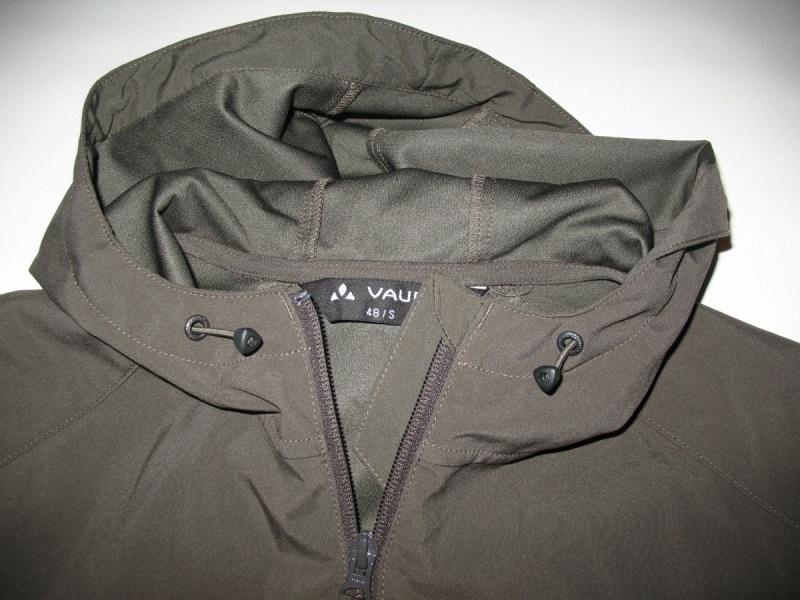 Куртка VAUDE   Hurricane II hood softshell jacket  (размер S/M) - 3