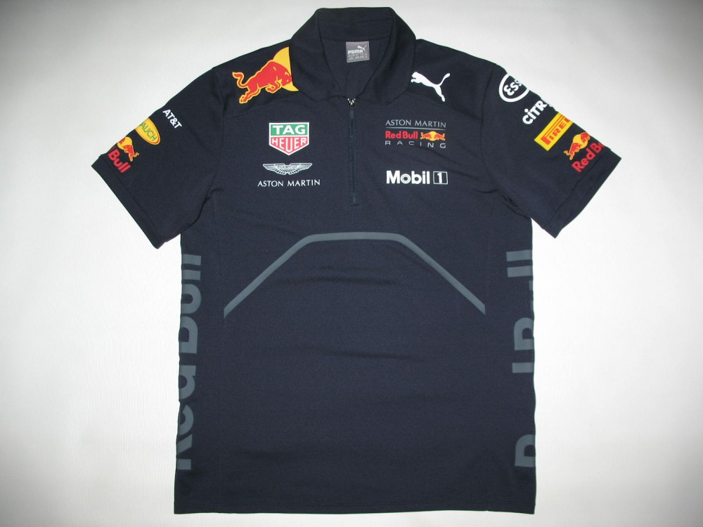Поло PUMA aston martin red bull racing 18 polo jersey (размер M) - 2