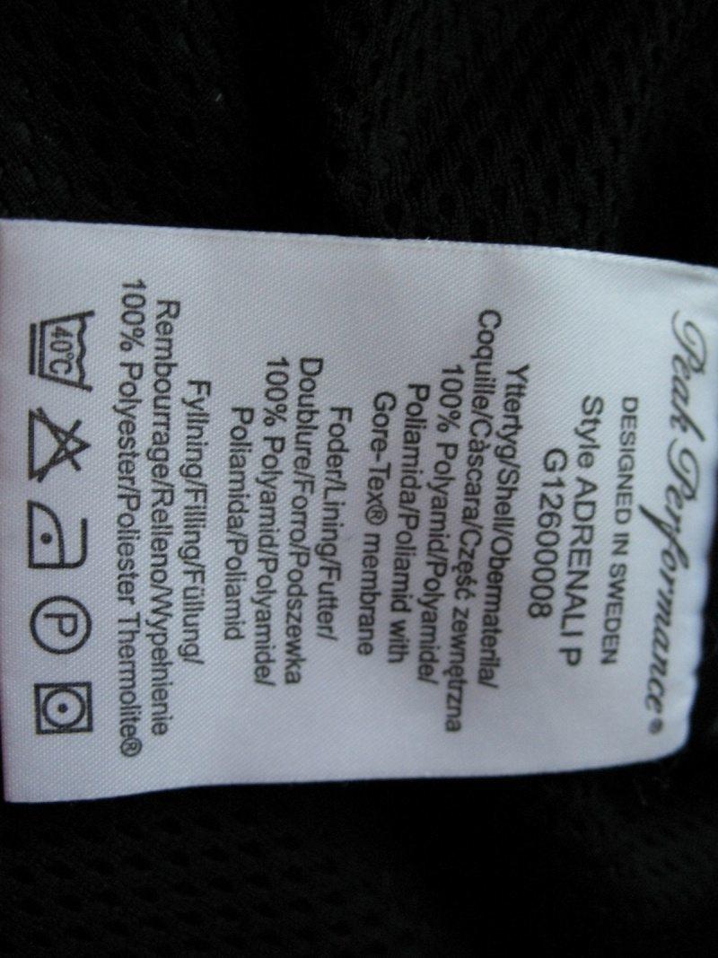 Штаны PEAK PERFOMANCE GTX pant  (размер L) - 9