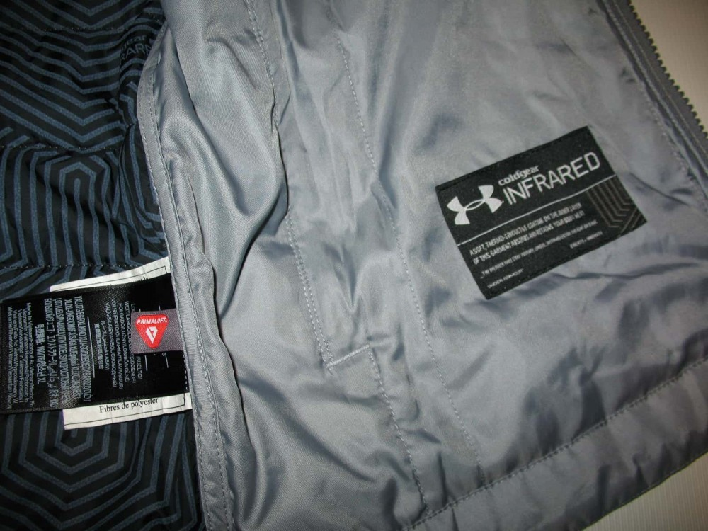 Куртка UNDER ARMOUR storm coldgear infrared werewolf jacket lady/boys (размер young XL(lady M/S)) - 8