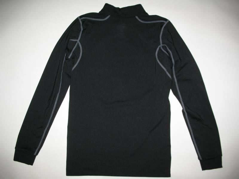Футболка NIKE Pro Combat Fitted Mock Neck Shirt Dri-Fit (размер юношеский XL/взрослый XS/S) - 3