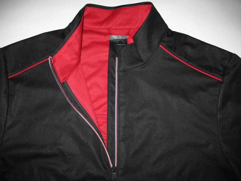Футболка  GREG NORMAN Weatherknit Rain Protection 1/4-Zip Short Sleeve (размер L(реально XL)) - 4