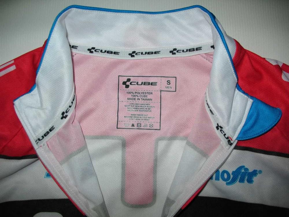 Веломайка CUBE teamline jersey (размер S) - 4