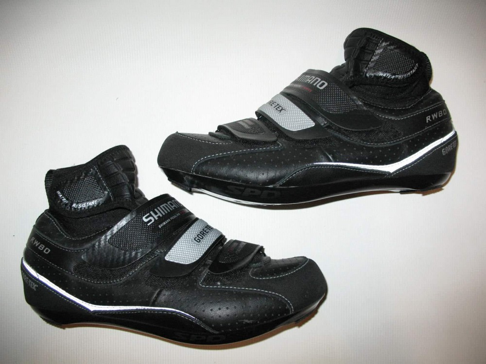 Велотуфли SHIMANO rw80 GTX shoes (размер US7,5;EU41(на стопу до 258 mm)) - 4