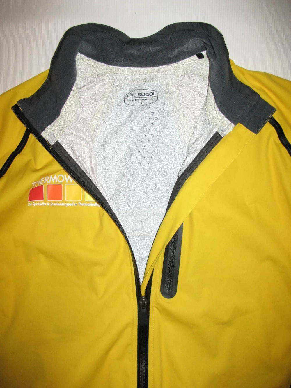Куртка SUGOI thermowear rain light bike/run jacket (размер L) - 3