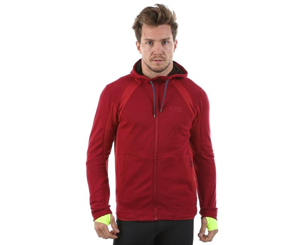 Кофта GORE running wear hooded running jacket (размер XXL) - 5