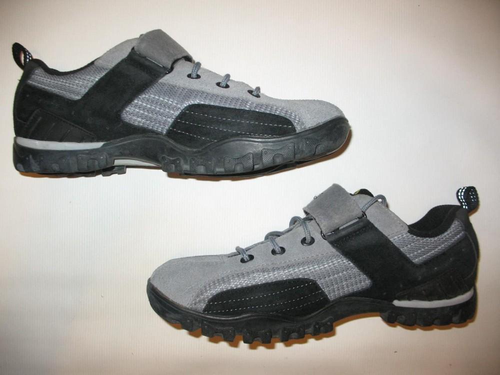 Велотуфли SHIMANO sh-mt 40 MTB shoes (размер US10/EU44(на стопу 278 mm)) - 4