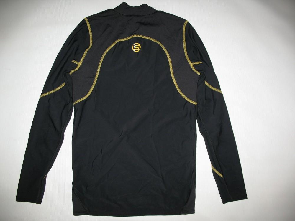 Футболка+брюки SKINS A200 compression long sleeves jersey+long tights (размер M) - 2
