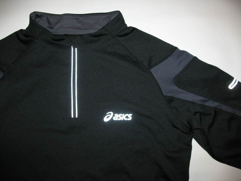 Кофта ASICS run fleece 1/2 zip jersey (размер L) - 2