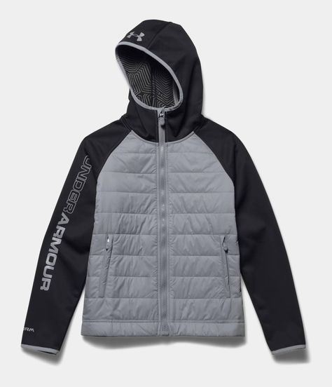 Куртка UNDER ARMOUR storm coldgear infrared werewolf jacket lady/boys (размер young XL(lady M/S)) - 12