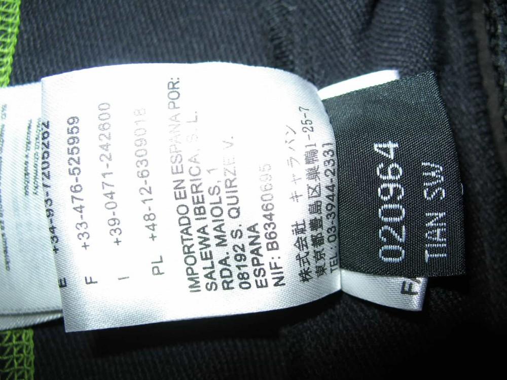 Куртка SALEWA tian sw softshell jacket lady (размер M) - 11