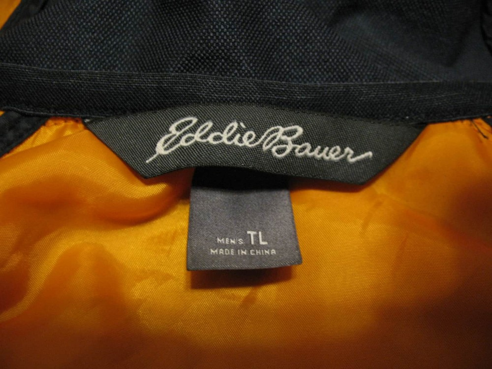 Куртка EDDIE BAUER ultralight hooded  jacket (размер L) - 6