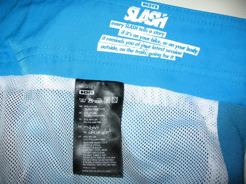 Шорты ION slash series DH shorts (размер 36/XL) - 5