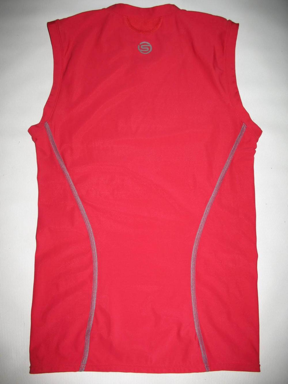 Футболка SKINS A200 compression sleeveless top (размер M) - 1
