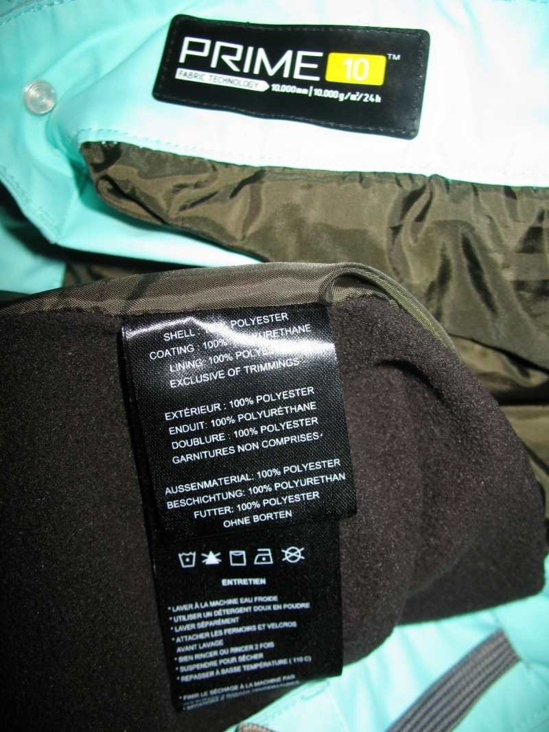 Штаны ORAGE Belmont ski/board pants (размер M) - 16