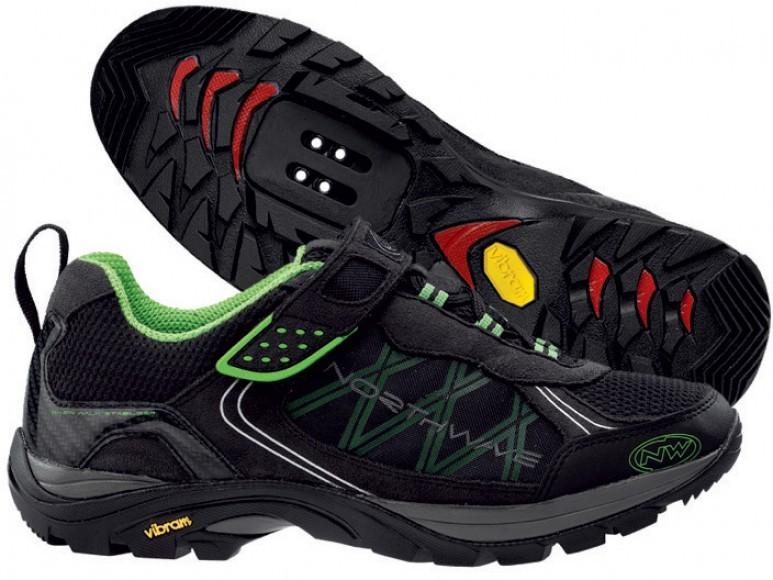 Велотуфли NORTHWAVE mission bike shoes (размер US9,5/UK8,5/EU42(на стопу до 270 mm)) - 2