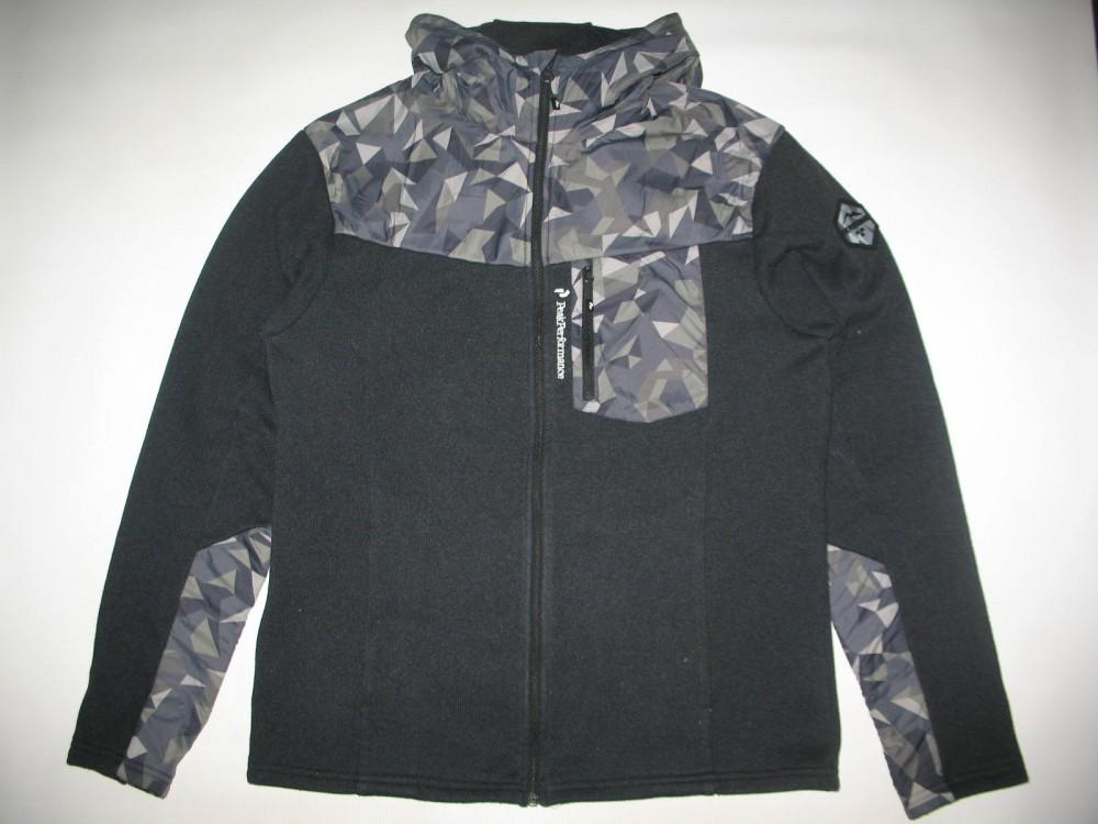 Кофта PEAK PERFOMANCE tebulos fleece hoody (размер XL) - 1