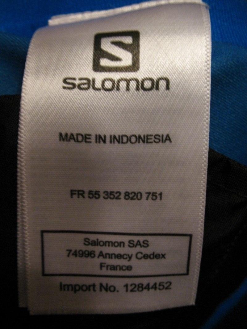 Штаны SALOMON Foresight pants  (размер M) - 13