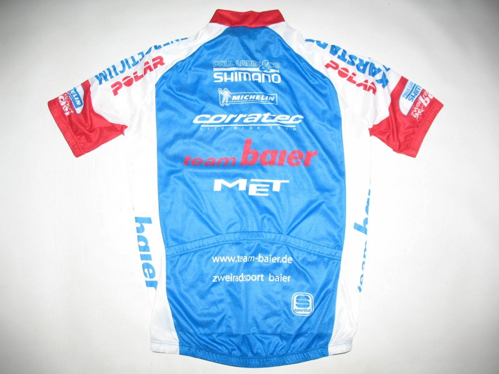 Веломайка SPORTFUL team baier cycling jersey (размер XL/L) - 1