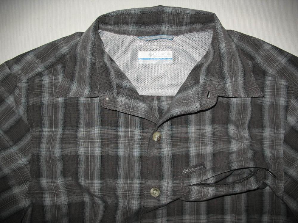 Рубашка COLUMBIA outdoor omni-shade ss shirt (размер S/M) - 3
