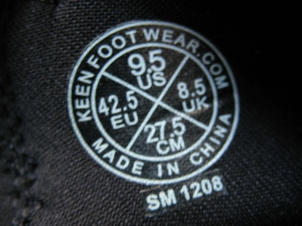 Велотуфли KEEN pedal commuter shoes (размер UK8,5/US9,5/EU42,5(на стопу до 275 mm)) - 10