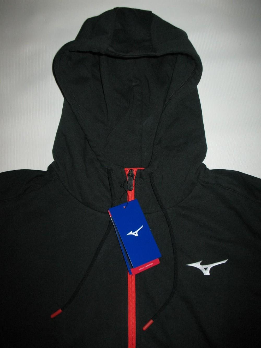 Кофта MIZUNO heritage zip hoody (размер L) - 3