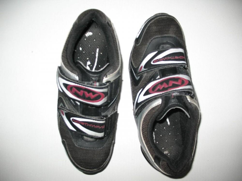 Велотуфли NORTHWAVE heel retention mtb shoes (размер UK2/US3/EU34(на стопу до 225 mm)) - 4