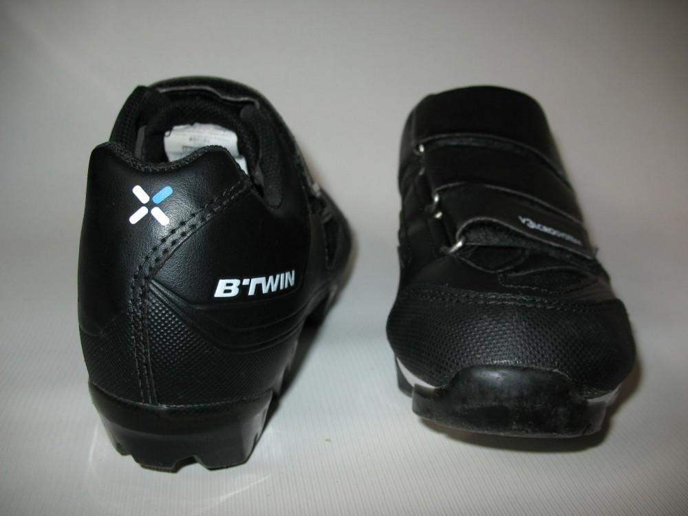 Велотуфли B'TWIN 500 mtb shoes (размер UK5,5/US6/EU39(на стопу до 245 mm)) - 2