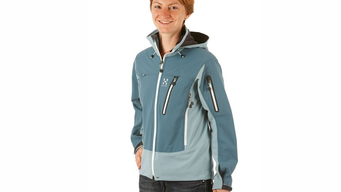 Куртка HAGLOFS jaw softshell jacket lady (размер M) - 1